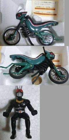 バトルホッパー ポピニカ 超合金 仮面ライダーブラック バイク _画像3