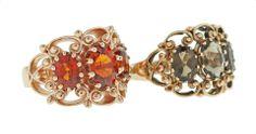 Warm colours - Brisbane Jeweller - Coloured Gems - MONTASH Jewellery Design - www.montash.com.au