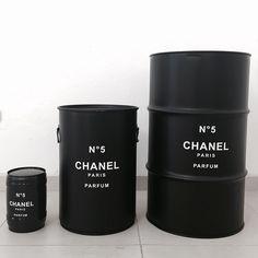 #chanel #barril #barrel #decoração #rebecaguerra #chanelzinhochanelchanelzão