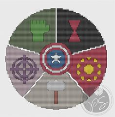 Embroidery: Avengers