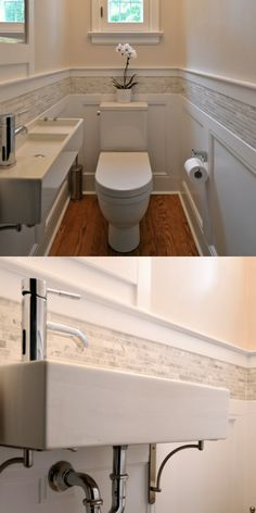 Powder Room Vanity, Powder Room Decor, Powder Room Design, Small Toilet Room, Small Bathroom, Bathrooms, Decorating Ideas, Small Powder Rooms, Baltimore House