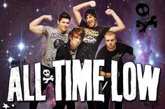 I'm so board. All Time Low