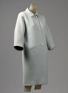 Cristobal Balenciaga: Day coat day coat 1964 The Metropolitan Museum of Art