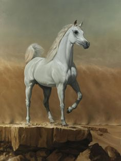 James Gillick, 5. Young Arabian Stallion, 2016, Sladmore Contemporary
