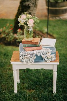 sweet and simple wedding details // photo by BenjHaisch.com