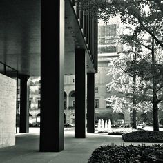 ny, seagram building, mies van der rohe | by isc