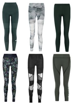 """leggings everyday 2017"" by needlework ❤ liked on Polyvore featuring adidas, NIKE, James Perse, Fendi, Junya Watanabe and The Upside"
