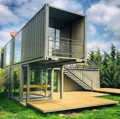 44 Must See Shipping Container Homes 44 Must See Shipping Container Homes House Topics Building A Container Home, Storage Container Homes, Container House Plans, Container Design, Shipping Container Buildings, Shipping Container Home Designs, Cheap Shipping Containers, Container Architecture, Architecture Design