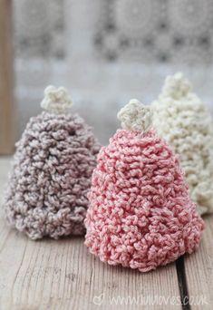 @ Lululoves - Crochet Christmas Trees - pattern is in Inside Crochet mag Issue 59