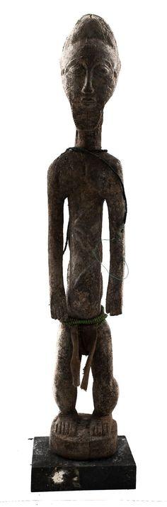 African Statue | Baule | ivory coast | art artwork statues folk art statuette tribal artwork wood carving artifacts| art lover gift #statuette #BauleFigure #AfricanFolkArt #AfricanStatues #AfricanArtwork #TribalArtwork #AfricanAmericanArt #AfricanMask #baoulé #BauleStatue