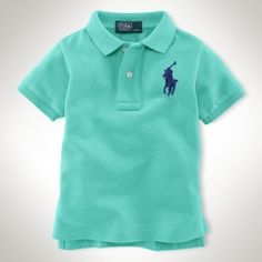 b7c3aeba5d3 Big Pony Polo - Infant Boys Polo Shirts   Rugbys - Ralph Lauren UK Ralph  Lauren