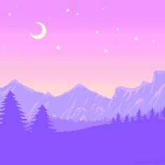 night pixel art | Tumblr