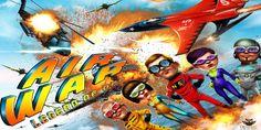 Air War Legends: A 3D flight war game developed by the nipsapp 3D game development team which ensures unlimited levels for life long entertainment. #nipsapp #iosgames #androidgames #airwar