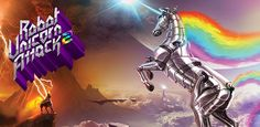 Robot Unicorn Attack 2 Gallops on Android - http://mobilephoneadvise.com/robot-unicorn-attack-2-gallops-on-android