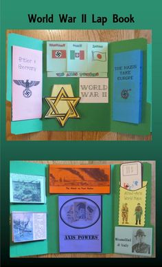 This Great Depression and World War II Lap Book contains 14 interactive organizers which may be glued onto a file folder to form a lap book, added to interactive notebooks, or used individually. 6th Grade Social Studies, Social Studies Activities, Teaching Social Studies, Social Studies Projects, History Interactive Notebook, Interactive Notebooks, Study History, History Class, Women's History