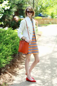 District of Chic: stripes 'n' brights