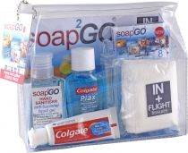 Soap2Go In + Flight Travel Kit - $10.10 #travelpack