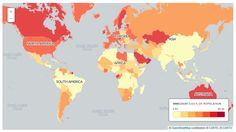 Countries with the highest levels of immigration are not the ones you might think.
