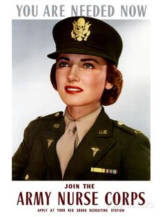 World War II Poster of a Smiling Female Officer of the U.S. Army Medical  Corps Photographic Print by Stocktrek Images 376af909c