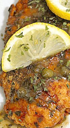 Ina Garten's Chicken Piccata - a symphony of lemony goodness! ❊