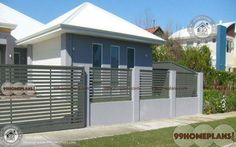 Compound Wall Structural Design with New Rich Collection Of Gate Walls