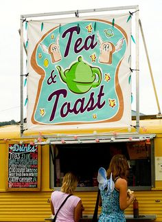 tea truck - I want to do this! festival essential