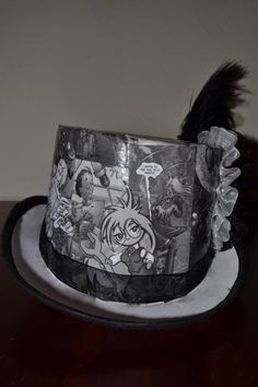 Comic book hat