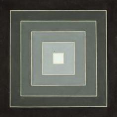 X  Frank Stella  American, born 1936  Dewey Square, 1962  © 2013 Frank Stella / Artists Rights Society (ARS), New York