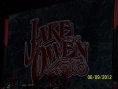 June 9, 2012-Cowboys Stadium!! Jake Owen, Grace Potter, Tim McGraw, and Kenny Chesney!! Brothers of the Sun tour