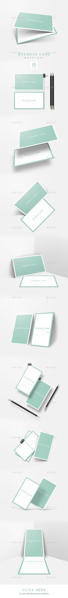 Realistic business card mockups vol 2 the smart the ojays and a business card mockup reheart Gallery