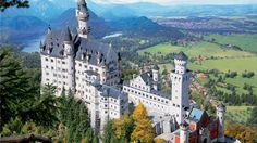 Cinco castillos que inspiraron a Disney. Neuschwanstein (Alemania)