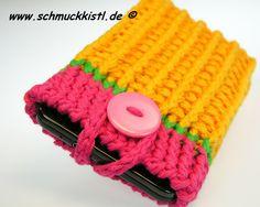Handytasche Smartphone von www.Schmuckkistl.de auf DaWanda