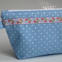 Really pretty Cath Kidston fabric cosmetic bag.  The stores no longer stock cotton fabric like this so handmade items like this will no longer be available....shame