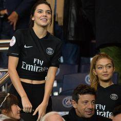 Rihanna, Kendall Jenner et Gigi Hadid, supportrices de charme du PSG!