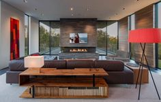 Merely a contemporary sectional sofa set isn't sufficient to illustrate the aesthetics of a contemporary living room. In addition, you wish to focus in on the living room wherever your guests will be. My Living Room, Living Room Decor, Living Spaces, Home Office, Small Sitting Areas, Modern House Floor Plans, Planet Design, Washington, Storey Homes