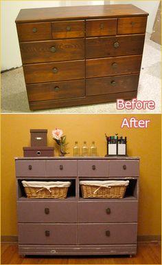 Broken Dresser On Pinterest Old Dresser Makeovers