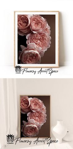 Big Photo, Photo Art, Shopping Stores, Online Shopping, Bedroom Wall, Bedroom Decor, Floral Wall Art, Pin Pin, White Colors