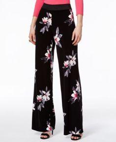 6719b2c40d Alfani Printed Palazzo Pants, Created for Macy's & Reviews - Pants & Capris  - Women - Macy's