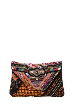 Antik Batik Aeden Clutch in Multi from REVOLVEclothing