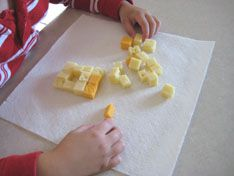 "Activity to go along with the book ""The Curse of the Cheese Pyramid"" by Geronimo Stilton."