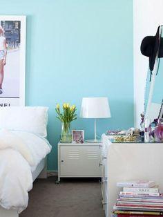 Conheça nossa super seleção com mais de 61 fotos de quartos azul turquesa…