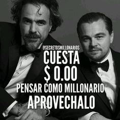 #Repost @secretosmillonarios ・・・ #secretosmillonarios CUESTA $0.00 dólares pensar como millonario no lo desaproveches. #mentesmillonarias #luxury #exito #motivation #libertadfinanciera #emprendedor #colombia #repost #2016 #metas #frases #2016 #emprender #Emprende #dinero #money #gratis #free #negocios #wallstreet #metas #libros