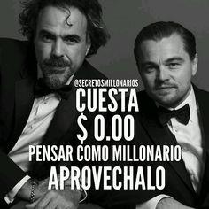 """107 Me gusta, 3 comentarios - Hombre De Negocio (@hombredenegocio) en Instagram: """"#Repost @secretosmillonarios ・・・ #secretosmillonarios CUESTA $0.00 dólares pensar como millonario…"""""""