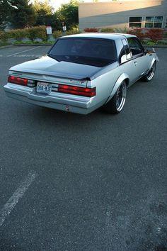eighty1design's 1987 Buick Grand National black grey silver - LGMSports.com