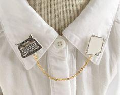Clips de arco iris collar / cadena suéter