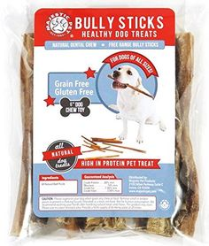 5 to 6 Inch 96-Pack Bully Sticks-Majestic Pet All Natural Dog Chews-Healthy Nutritious Treats-Free Range-No Hormones or Chemicals, Low Odor-Long Lasting-100% Best Satisfaction Guarantee! * Click image for more details.