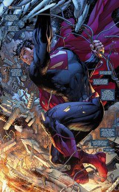 FIRST LOOK: Jim Lees Super-Sized Superman   DC Comics