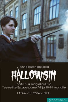 Escape Game: Hallows School of Witchcraft & Magic years Escape Room, Halloween Quotes, Halloween Party, Halloween Costumes, Cinema Sign, Game Day Quotes, The Hallow, Tumblr Rooms, Boy Birthday Parties