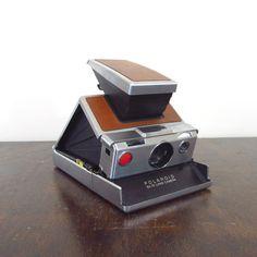 Polaroid SX-70 land camera. Produced between 1972 and 1977.