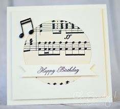 Musical Happy Birthday by Oh, Smudge!